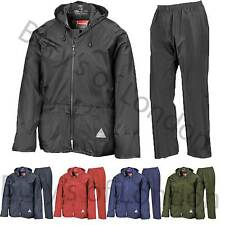 Result Weather-Guard heavy Waterproof and Windproof Jacket Trousers Suit