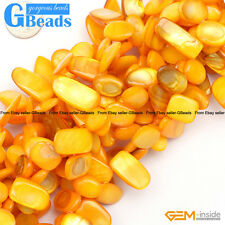 """10x15-20mm Freeform Shell MOP Chips Gemstone Loose Beads For Jewelry Making 15"""""""