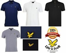 Lyle and Scott Mens Short Sleeve Polo Shirts