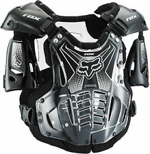 Fox Racing Adult & Youth Black Airframe Dirt Bike Roost Chest Guard MX ATV 2016