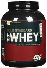 Optimum Nutrition: GOLD STANDARD 100% WHEY PROTEIN (5 lbs)  CHOOSE FLAVOR!