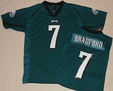 PHILADELPHIA EAGLES SAM BRADFORD #7 NFL REPLICA JERSEY YOUTH  M L XL GREEN NWT