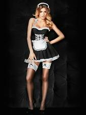 Ann Summers Maid Black White Sexy Seductive Erotic Costume Outfit Fancy Dress