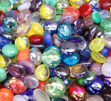 Round Glass Pebbles,Stones,Beads - Various Quantities and Colours