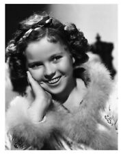 Charming Hollywood Movie Star Shirley Temple Silver Halide Actress Photo