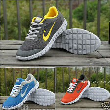 FASHION MENS RUNNING TRAINERS BOYS GYM WALKING SHOCK ABSORBING SPORTS SZ UK6-11