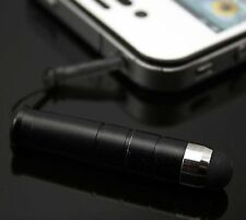 3.5mm Metal CAPACITIVE Plug Pen Screen Touch Stylus for Phones 2015 hot model