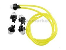 Snap In Primer Bulbs x5 + Fuel Line Fit Homeliter Ryobi ECHO McCulloch Poulan