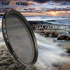 Slim Fader Variable Adjustable ND ND2 to ND400 Lens Filter 52 58 67 72 77MM