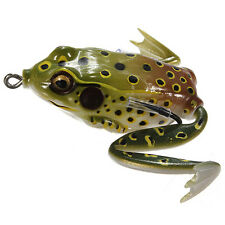 1Pcs Freshwater Ray Frog Topwater Fishing Lure Hooks Bass Bait Tackle 40mm 6.5g