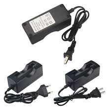70cm Wall Battery Charger For 18650 Rechargeable Li-Ion Batteries US EU Plug New