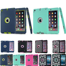 Cover For Apple IPad Air2 IPad 6 Shockproof Heavy Duty Silicone Rubber Hard Case