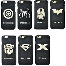 Fashion Heroes Hard Cover Case Glitter Skin Back For  iPhone 4 4s 5s 5c 6 6 plus