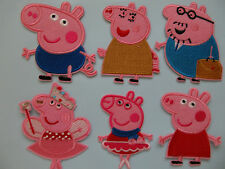 Peppa Pig George Pig Iron on Applique Patch **DIFFERENT STYLES**