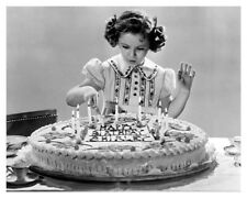 Happy Birthday Shirley Temple Celebrity Silver Halide Actress Photo Free Ship