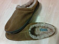 ROCKPORT ~ MEN'S SUEDE MEMORY FOAM SLIPPERS (Size 12.5-13)**FREE SHIPPING**