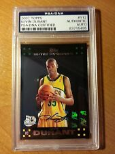 Kevin Durant 2007 Topps Auto Autograph RC PSA/DNA Certified