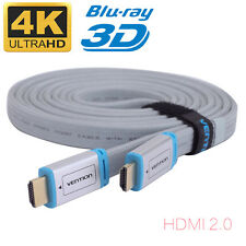 Top Quality HDMI Cable V2.0 3D 1080P 4K @ 60Hz - HDTV LCD LED XBOX PS4 BLURAY