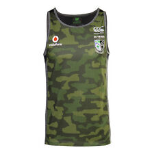 New Zealand Warriors CCC NRL Camo Training Singlet Sizes S-5XL! BNWT's!5