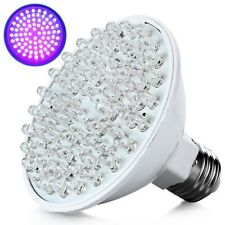 Good Ultra Bright E27 UV Ultraviolet Color Purple Light 80LED Lamp Bulb 110/220V