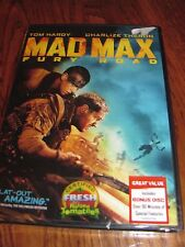 Mad Max: Fury Road; Tom Hardy & Charlize Theron} DVD,2015) NEW+ I Ship Faster