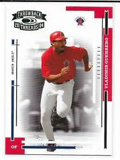 2004 DONRUSS THROWBACK THREADS VLADIMIR GUERRERO GREEN PROOF #16/25 ANGELS