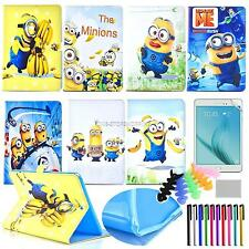 for Samsung GALAXY Tab A 8.0 T350 T355 PU leather case Despicable Me covers