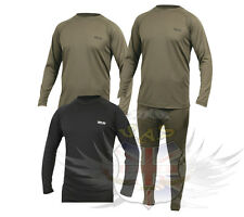 WEB-TEX PRO XT BASE LAYER ARMY STYLE THERMAL MOISTURE WICKING TOP,GREEN,BLACK