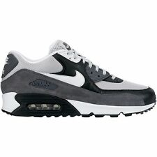 NIKE AIR MAX 90 ESSENTIAL UK SIZE 6 7 9 GREY RUNNING TRAINERS SHOES RETRO