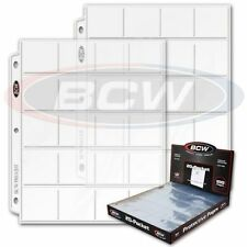 FIVE (5) BCW 20 pocket ALBUM PAGE for COIN Collection Collecting - FREE SHIP