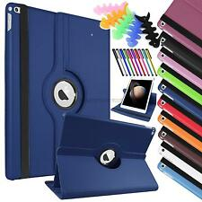 """For Apple iPad pro 12.9""""  PU leather case stand cover 360 rotation stand covers"""
