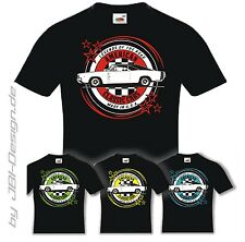 Burnout Coyote T-Shirt Schwarz US Car Cars Oldtimer Muscle V8 1968 Charger dodge
