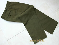 UK BRITISH ARMY SURPLUS G1 No.2 KHAKI UNIFORM TROUSERS,2'S FOR GOODWOOD REVIVAL