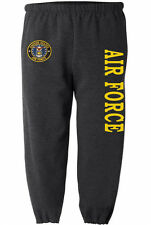 US Air Force sweatpants Men's size us air force sweats usaf sweatpants dark gray