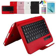Removable Bluetooth keyboard leather case for Samsung Galaxy Tab A 8.0 T350 T355