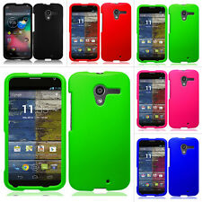 For Motorola Moto X XT1058 Rubberized Hard Matte Case Snap On Cover Accessory