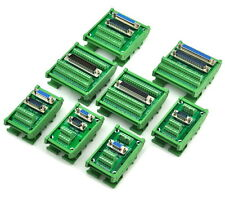DIN Rail Mount D-SUB Interface Module, DSUB Header Breakout Board.