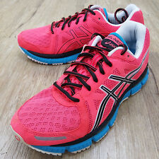 Asics Gel-Neo 33 Pink Black Womens Running Shoes with discoloration T272N-3190