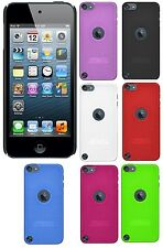 Amzer Hard Shell Snap On Back Case Skin Fit Cover For iPod Touch 5th 6th Gen