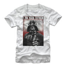 Star Wars Stern Vader I am Your Father Mens Graphic T Shirt