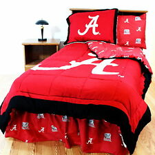 Alabama Crimson Tide Comforter Sham Pillowcase Valance Twin Full Queen King CC