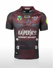 Manly Sea Eagles ISC Marvel 2015 Kids Dare Devil Jersey Sizes 8-14! BNWT's! NEW!