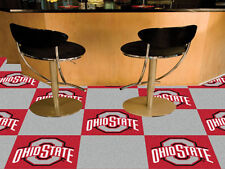 "Fanmats Officially licensed College NCAA Teams Colors Logo Carpet Tiles 18""x18"""
