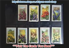 ☆ Gallaher - Wild Flowers 1939 (G) ***Pick The Cards You Need***