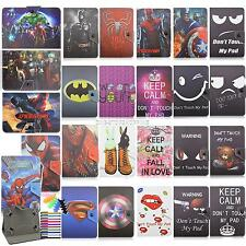 """Universal PU Leather Case Cover For 9.7"""" 10"""" 10.1""""Tablet PC batman spiderman"""