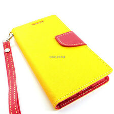 For Samsung Galaxy Mega 6.3 Hybrid PU Leather & TPU Flip Wallet Pouch Case Stand