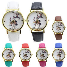 High Quality Women's Watch Casual Leather Band Analog Quartz Vogue Wrist Watches