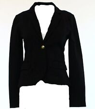 Anthropology Sanctuary Los Angeles Crown Crested Knit Cropped Blazer S L NWT