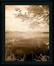 Peaceful Morning II Photography Lake Framed Art Print Picture Wall Décor