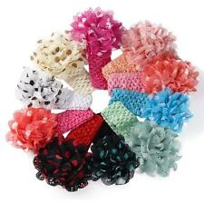 Girls Boys Baby vintage Headbands Flower Hair Accessories Infant Hair Band